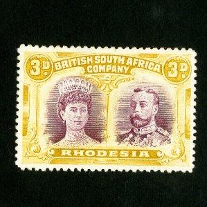 Rhodesia Stamps # 108 Superb Unused Catalog Value $50.00