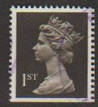 Great Britain SG 1452 Fine Used - perf 15 x 14 from Booklet