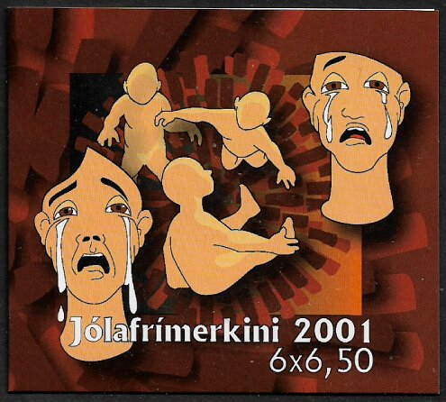 Faroe Is #408a MNH Complete Booklet - Bible Stories