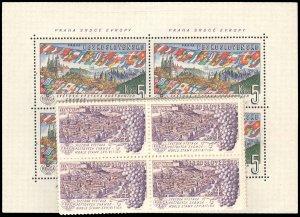 CZECHOSLOVAKIA 1070-80  Mint (ID # 96350)