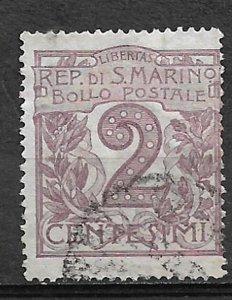 COLLECTION LOT OF # 805 SAN MARINO  # 40 1903