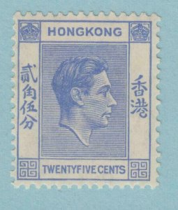 HONG KONG 160 MINT  HINGED OG *  NO FAULTS VERY  FINE !