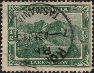 AUSTRALIA / TASMANIA - ca.1903/05  HOBART  CDS on SG237 1/2d green