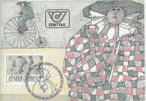 CARNIVAL BICYCLES : MAXIMUM CARD - AUSTRIA 1985