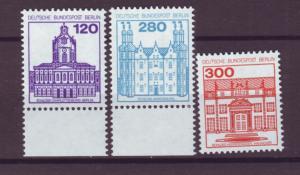 J20726 Jlstamps 1979-82 berlin germany hv,s of set mnh #9n443-5 designs