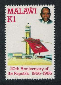 Malawi Kamuzu International Airport National Airline KEY VALUE SG#754