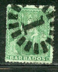 Barbados # 15, Used. CV $ 47.50