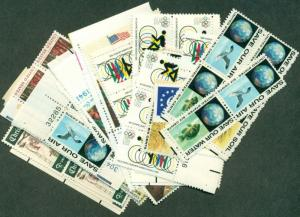 U.S. DISCOUNT POSTAGE LOT OF 100 6¢ STAMPS, FACE $6.00 SELLING FOR $4.50!
