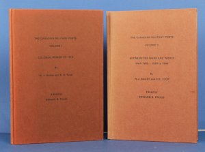 Canadian Military Posts : 2 Vol set by Bailey & Toop