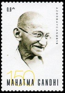 2019 Azerbaijan 1450 150th Birth Anniversary of Mahatma Gandhi