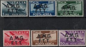 Italy-Trieste 1947 SC C1-C6 Mint SCV $166.00 Set