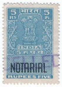 (I.B) India Revenue : Notarial 5R