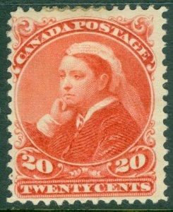 EDW1949SELL : CANADA 1893 Scott #46 Mint OG. Very tiny hinge thin. Catalog $400.