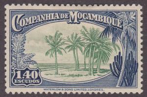 Mozambique Company 189 Palm Trees 1937