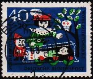 Germany. 1962 40pf+20pf S.G.1302 Fine Used
