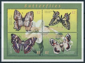 [108921] Carriacou & Petite Martinique 2000 Insects butterflies Mini sheet MNH