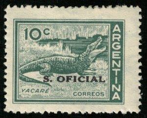 Yacare, 10 c, Argentina (T-5175)