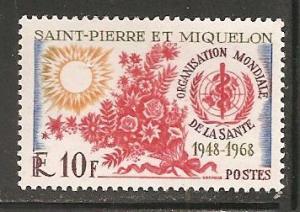 St Pierre & Miquelon SC 377 MNH
