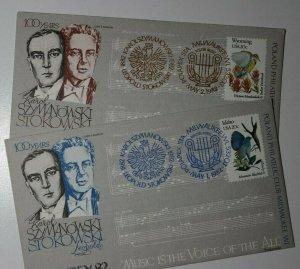 POLAPEX 100 Years Szymanski Stokowski Milwaukee WI 1982 Philatelic Expo Cover