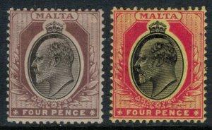Malta #37-8*  CV $17.75