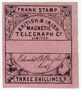 (I.B) British & Irish Magnetic Telegraph Company 3/-