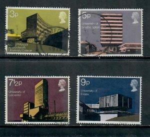 G.B 1971 COMMEMORATIVES  SET ARCHITECTURE USED  h 260121