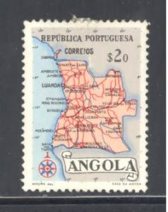 Angola Sc # 387 used (RS)