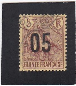 French  Guinea  #   55   used