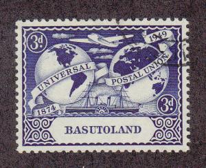 Basutoland Scott #42 Used