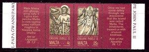 Malta 760a MNH 1990 Papal Visit    (ap4005)