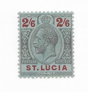 St Lucia #88 MH - Stamp CAT VALUE $20.00
