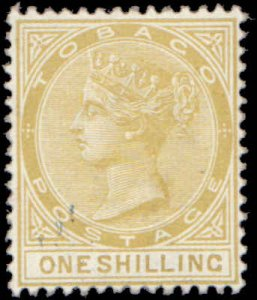 1894 Tobago #23, Incomplete Set, Hinged