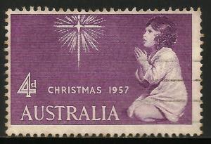 Australia 1957 Scott# 307 Used