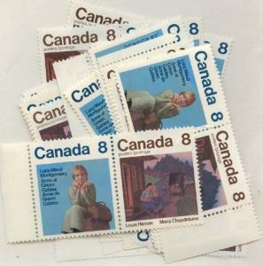 Canada - 1975 Anne of Green Gables & L Hemon X 31 sets