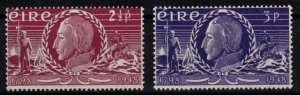 Ireland - Sc135-136 Insurrection of 1798 mint - CV $11