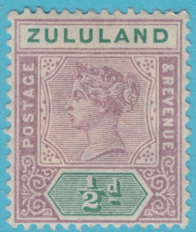 ZULULAND 15  MINT HINGED OG *  NO FAULTS EXTRA FINE !