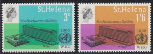 Saint Helena 190-191 MNH (1966)