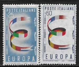 Italy 726 - 27 mnh 2017 SCV $6.25 Europa issue - 12277