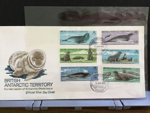 British Antarctic Territory 1983 Seals First Day Cover   stamps cover  R31645