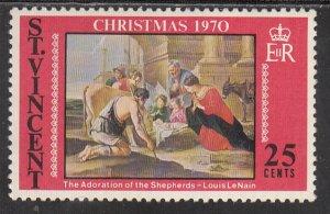St Vincent, Sc 309, MNH, 1970, Christmas