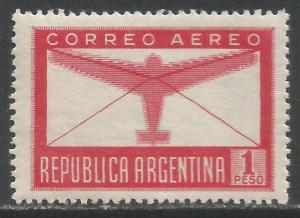 ARGENTINA C51 MNH AIRPLANE R11-111-4