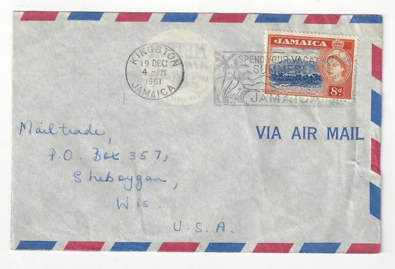 1961 Jamaica To Usa Cover