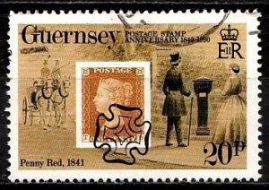 Guernsey 1990 SG. 491 used (10824)
