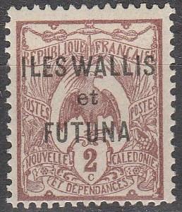 Wallis & Futuna #2 F-VF Unused (S6004)
