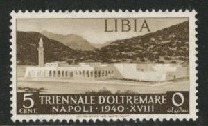 LIBYA Scott 88 MH* 1940 stamp