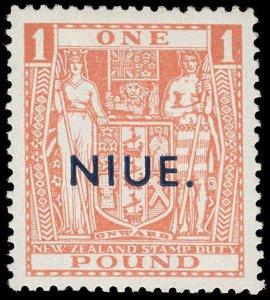 Niue Scott 86-89 Gibbons 79-82 Mint Set of Stamps