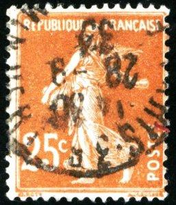 FRANCE #169 , USED - 1927 - FRAN130NS9