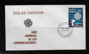 DOMINICAN REPUBLIC STAMP COVER #SEPTG10