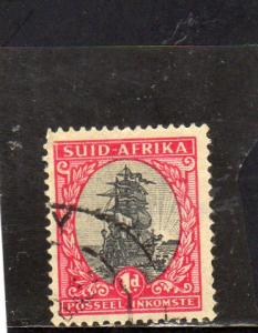 South Africa 1948 Geo V Defin used
