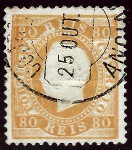 Portugal SC#44 Used VF hr SCV$30.00...Worth a close look!!